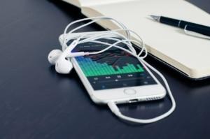iPhone Musik App