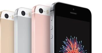 iPhone SE in allen Farben