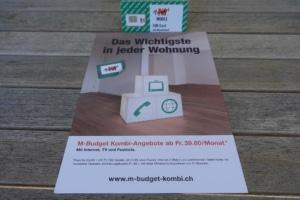 M Budget Kombi Werbung