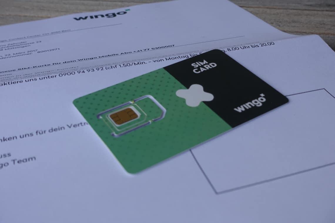Wingo SIM plus Anleitung