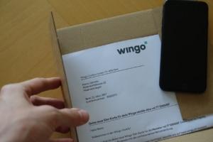 Umschlag von Wingo