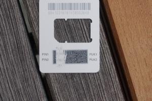 Coop Mobile SIM PIN und PUK