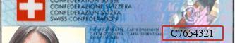 Muster Schweizer ID