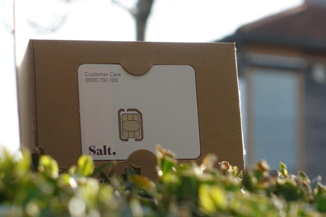 Salt SIM Tray