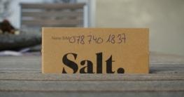 Salt Verpackung