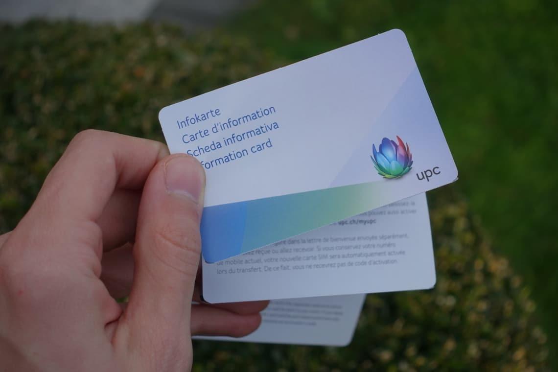 UPC Mobile Infokarte