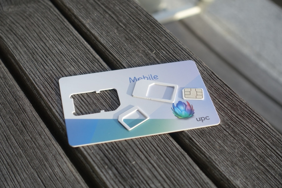 Multi SIM Karte von UPC Mobile