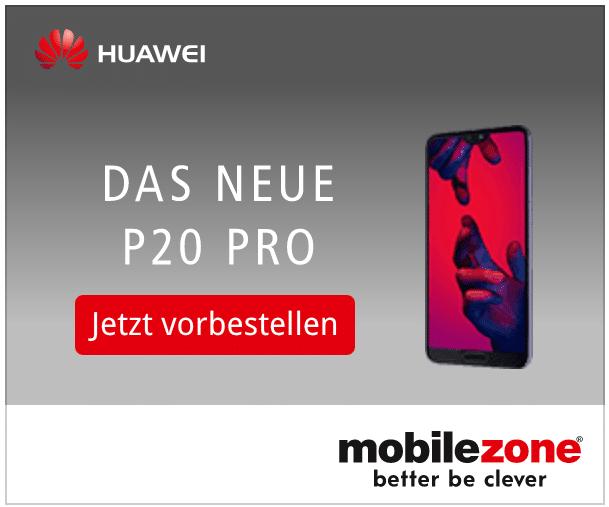 Huawei P20 bei Mobilezone