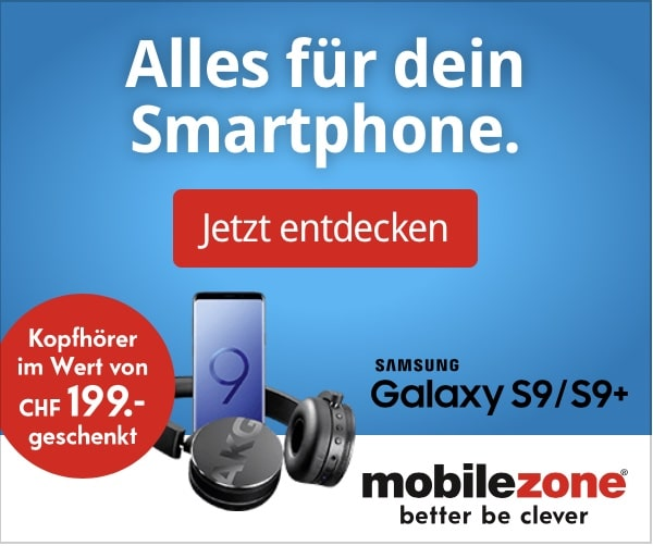 Galaxy S9 Aktion bei Mobilezone