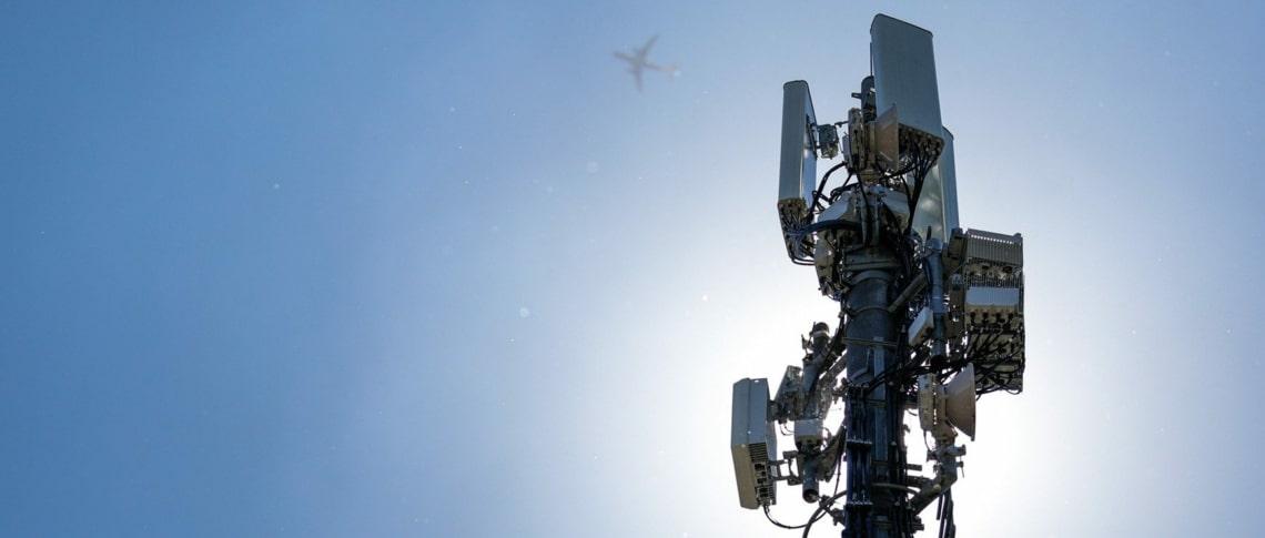 Erste 5G Antenne von Sunrise in Oerlikon