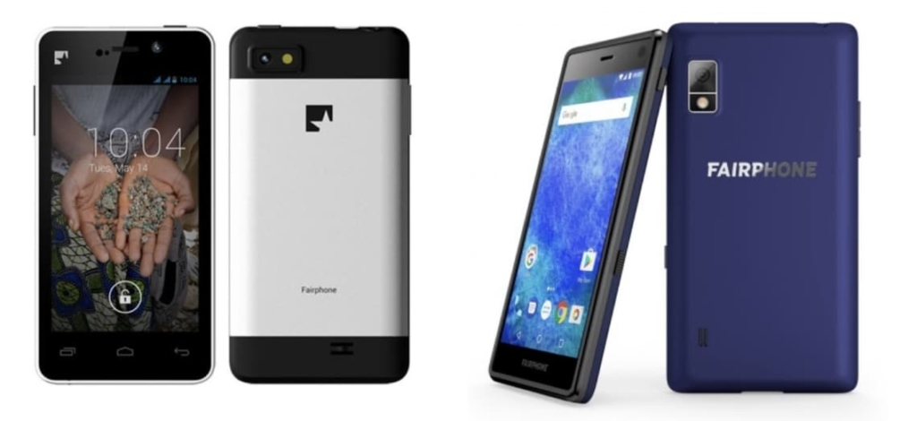 Fairphone 1 vs. Fairphone 2