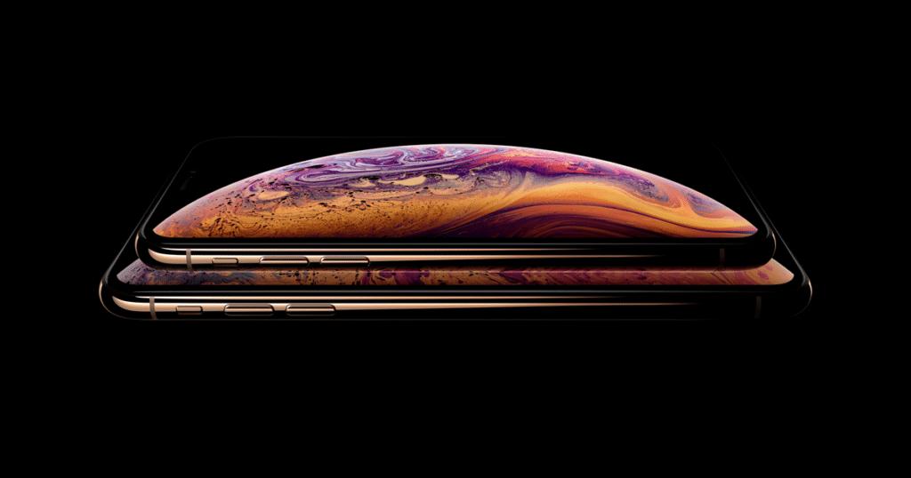 iPhone XS in Gold von Apple