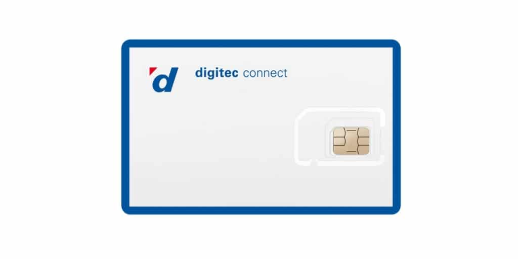 SIM Karte für Digitec Connect