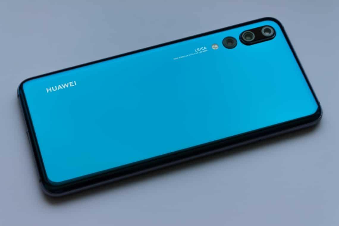 Huawei hat meist bunte Designs wie hier